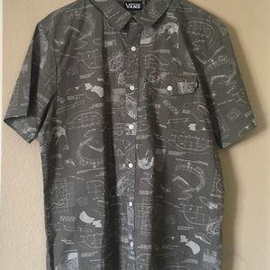 Men's Vans collared shirt